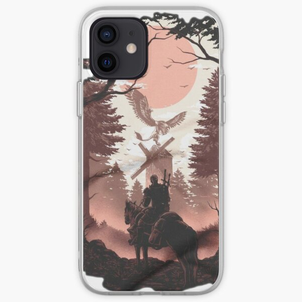 The story of the Witcher, wild Hunt iPhone Soft Case