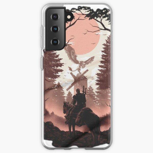 """Wild Hunt """"- el diseño se realiza utilizando una obra de arte abstracto Funda blanda para Samsung Galaxy"""