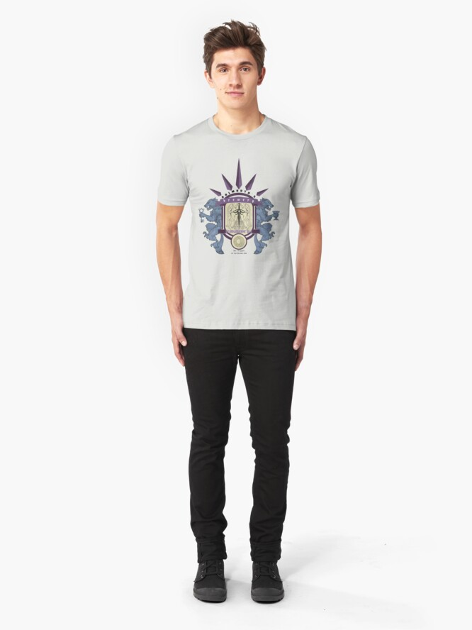 Alternate view of Bulmouth's Brewery - SpindleWeave Ale Slim Fit T-Shirt