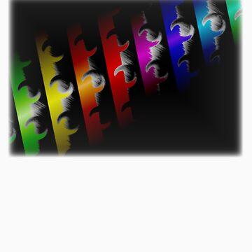 Rainbow Waves by kelbige