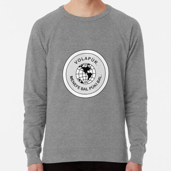 New Volapük Logo Lightweight Sweatshirt
