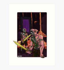 Zombie Pigmen Art Print