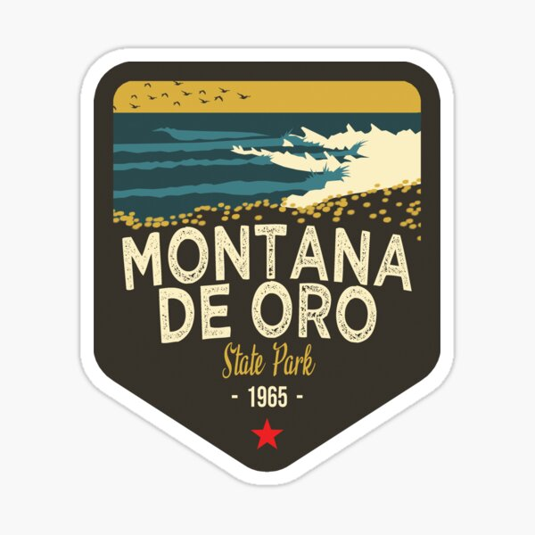 California Treasures Badge #6 of 10 - Montana De Oro State Park Sticker