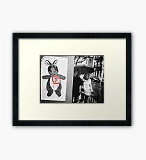 """Village Walks"" - N.Y.C Framed Print"