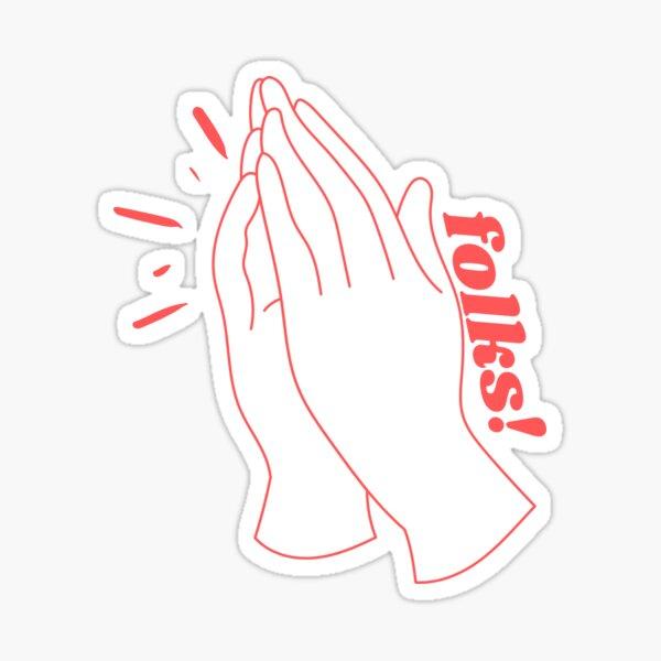 folks! a kurtis conner tribute Sticker