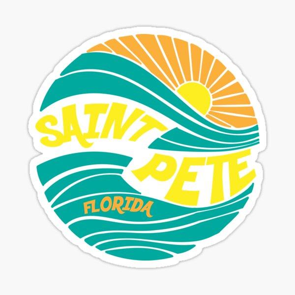 St. Pete Sunshine Sticker