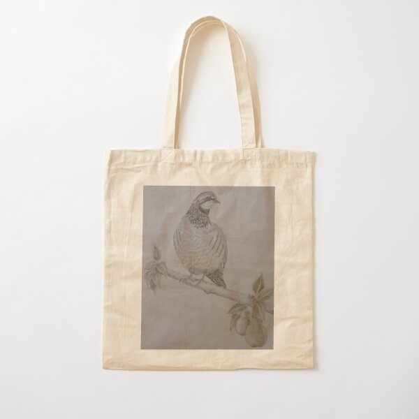 On The 1st Day of Christmas Cotton Tote Bag