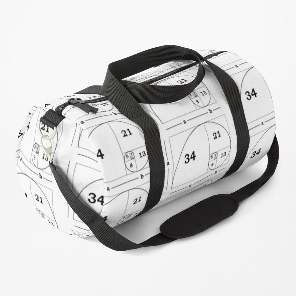 #Golden #Ratio #GoldenRatio #Design Ideas Fibonacci Spiral = 1.6180339887498948420 Duffle Bag