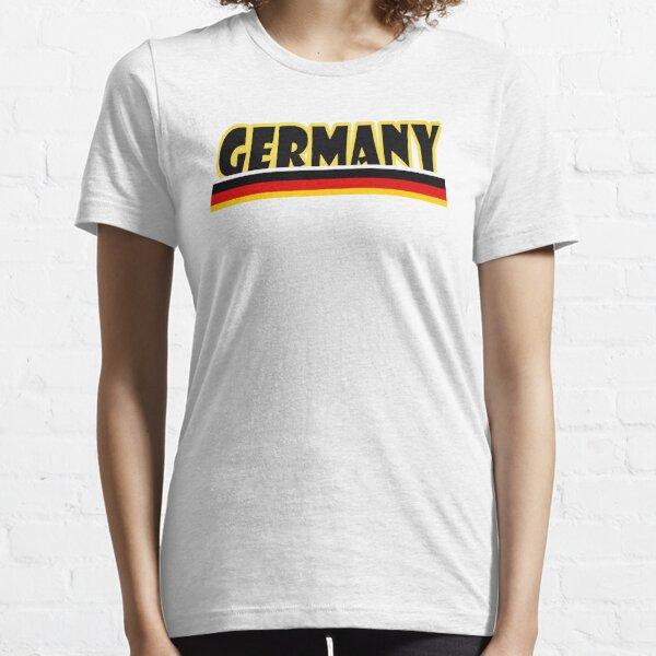 Deutsches Hemd mit der Flagge Deutschlands Essential T-Shirt
