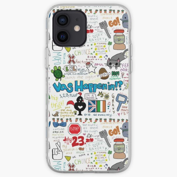 one direction - chistes internos Funda blanda para iPhone