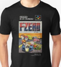 F-Zero Nintendo Famicom Box Art (NES) T-Shirt