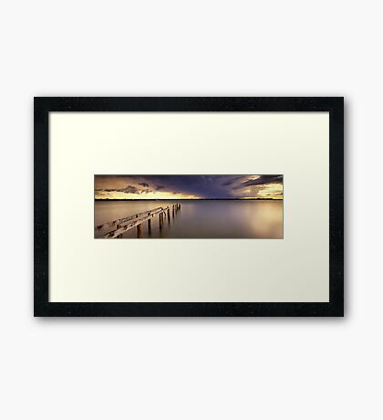 Cleveland Point Jetty Framed Print