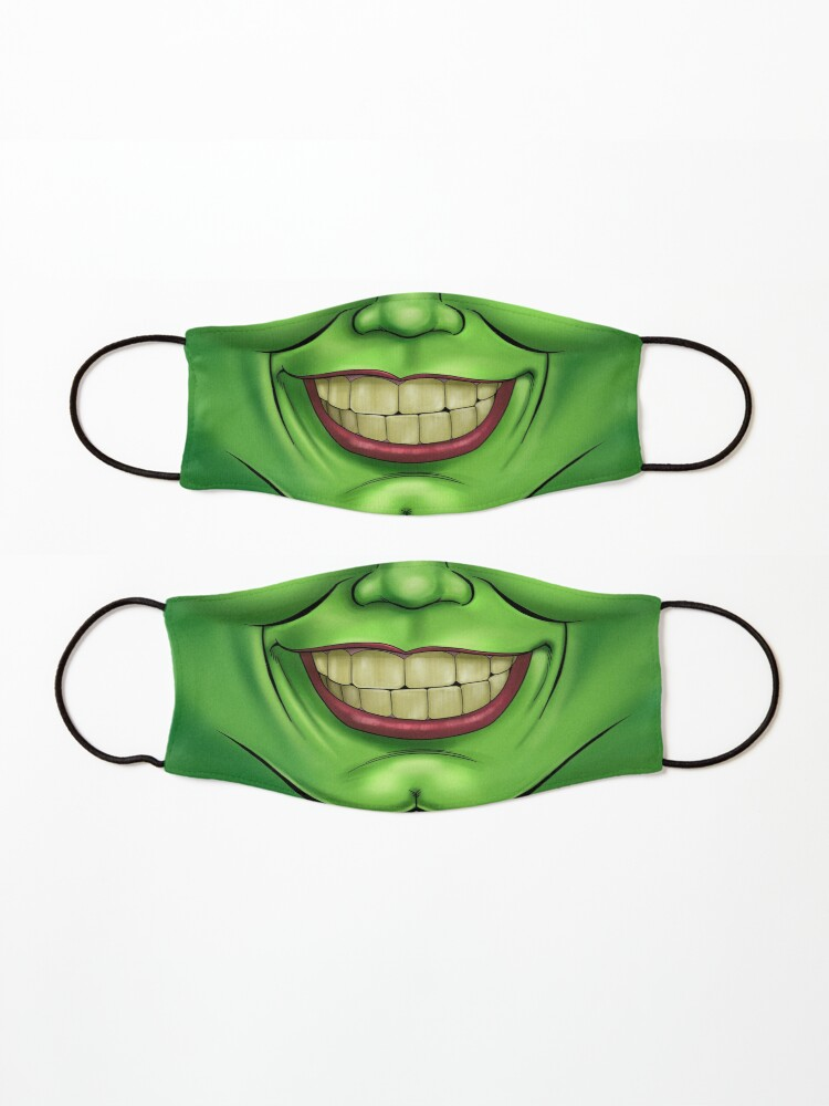 Alternate view of Cartoony Mouth Mask Mask