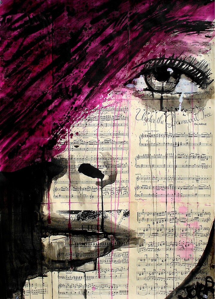 violets song by Loui  Jover