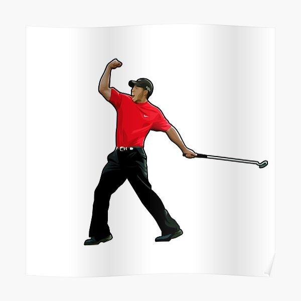 Tiger Masters Golf Legeds Poster