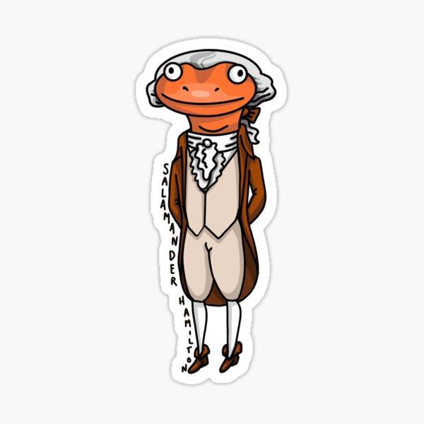 Salamander Hamilton Sticker