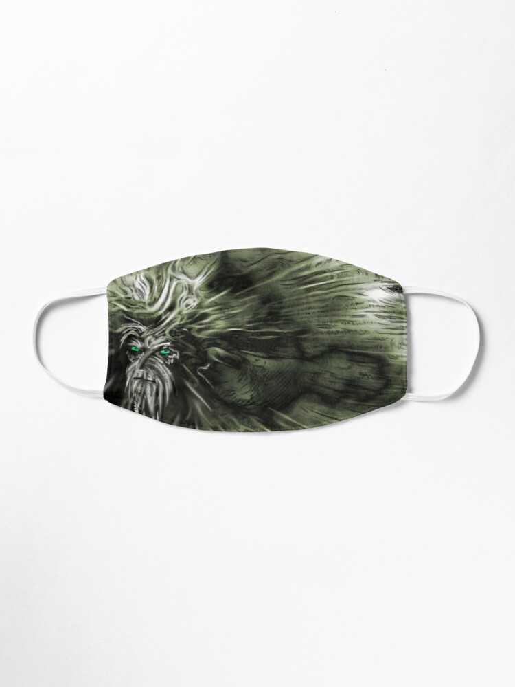 Alternate view of Herne Mask