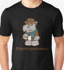 Hipsterpotamus Unisex T-Shirt