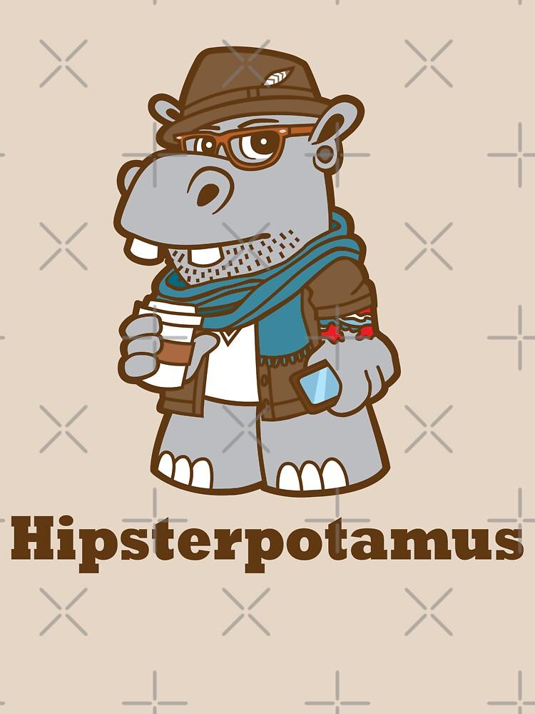 Hipsterpotamus | Unisex T-Shirt