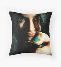 Over and Out Throw Pillow