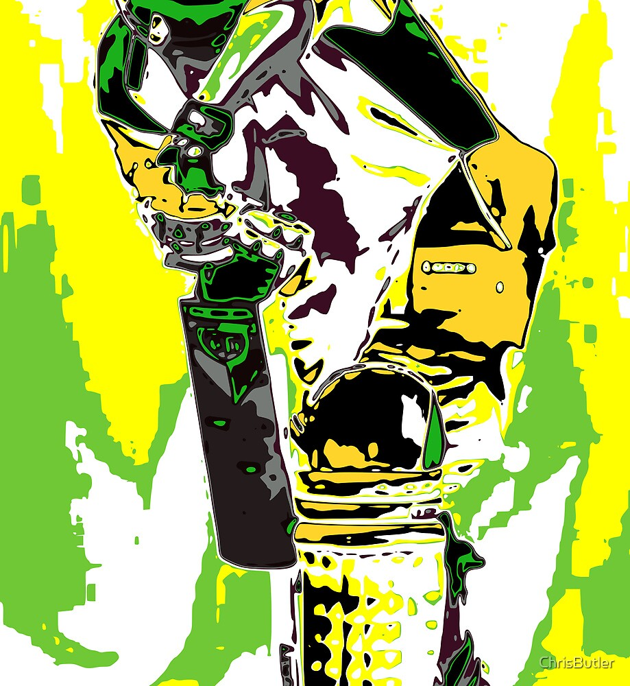 Cricketer by ChrisButler