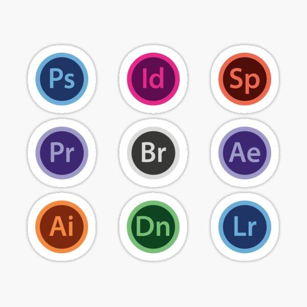 Adobe Creative Set Sticker