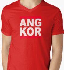 Angkor Mens V-Neck T-Shirt
