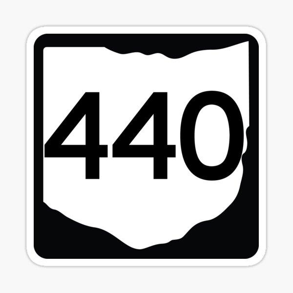 Ohio State Route 440 (Area Code 440) Sticker