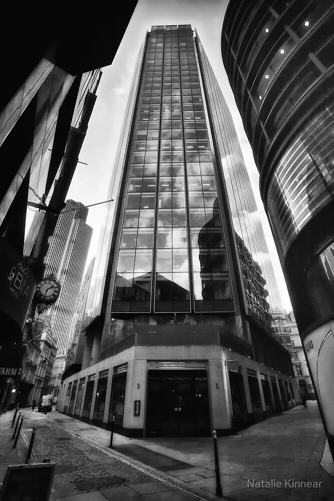 The Exchange Tower London England by Natalie Kinnear