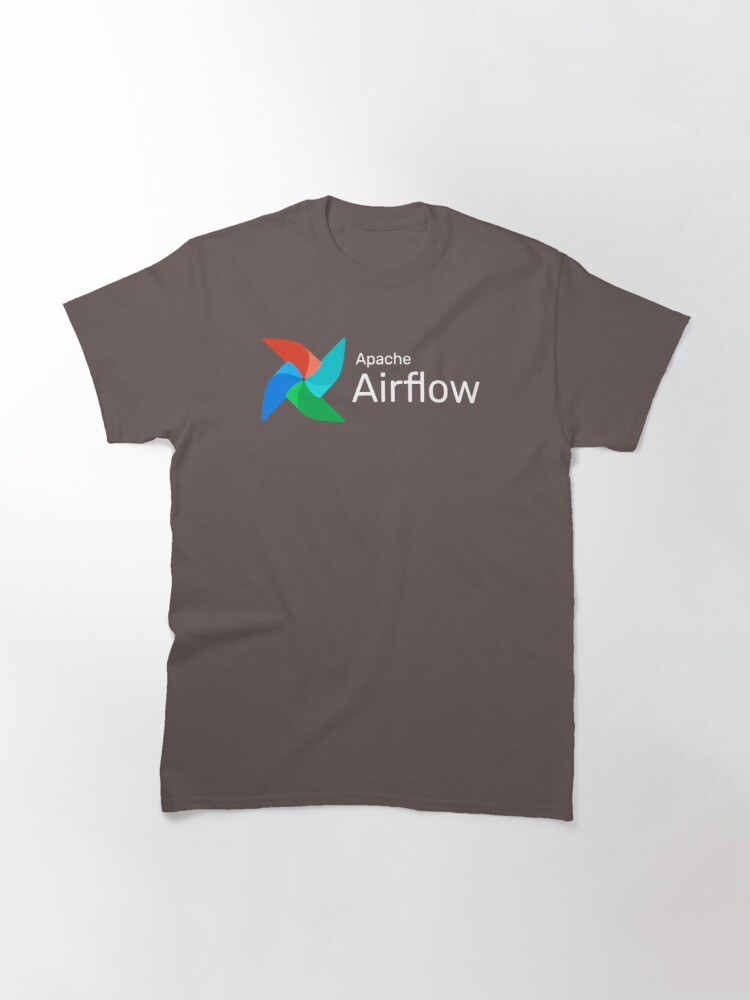Alternate view of Apache Airflow Inverse Classic T-Shirt