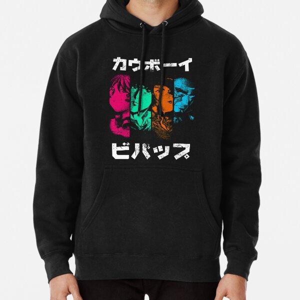 Bebop Noir (color) Pullover Hoodie