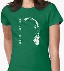 Ho Chi Minh Womens Fitted T-Shirt