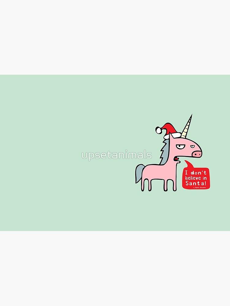 I Don't Believe in Santa! by upsetanimals