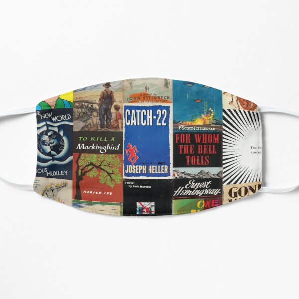 Modern Classics Literature Library Mask