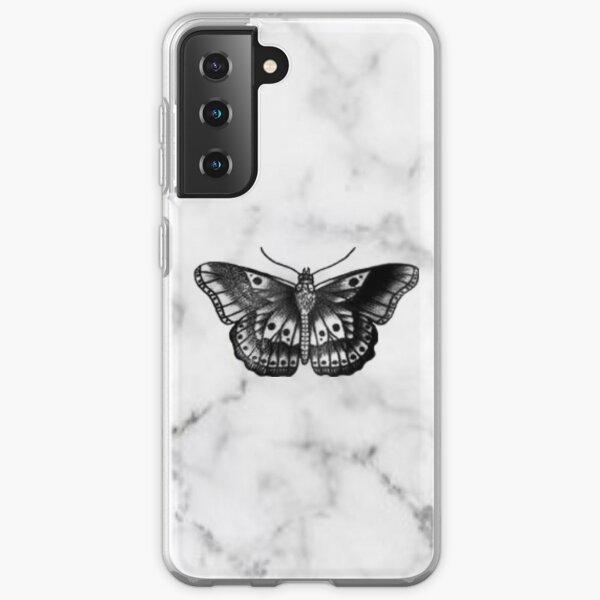 Tatouage Papillon Coque souple Samsung Galaxy
