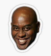 Small Ainsley Harriott Face Design Sticker