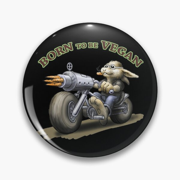 Born to be vegan Pin