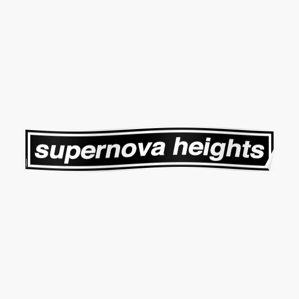Supernova Heights - OASIS Band Tribute - MADE IN THE 90s Poster