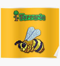 Terraria Queen Bee Poster