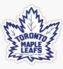Toronto Maple Leafs Retro Logo Sticker