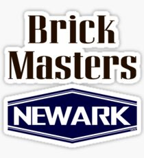 'Brick Masters' (v) Sticker