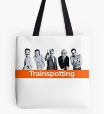 Trainspotting Tote Bag