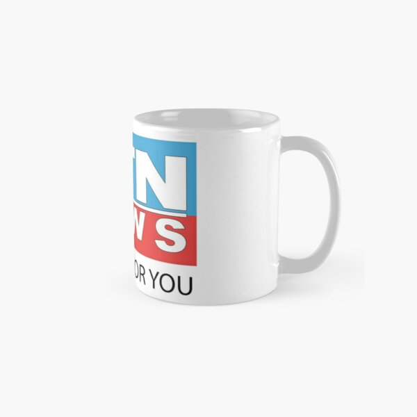 ATN News - We here for you (Small logo) Classic Mug