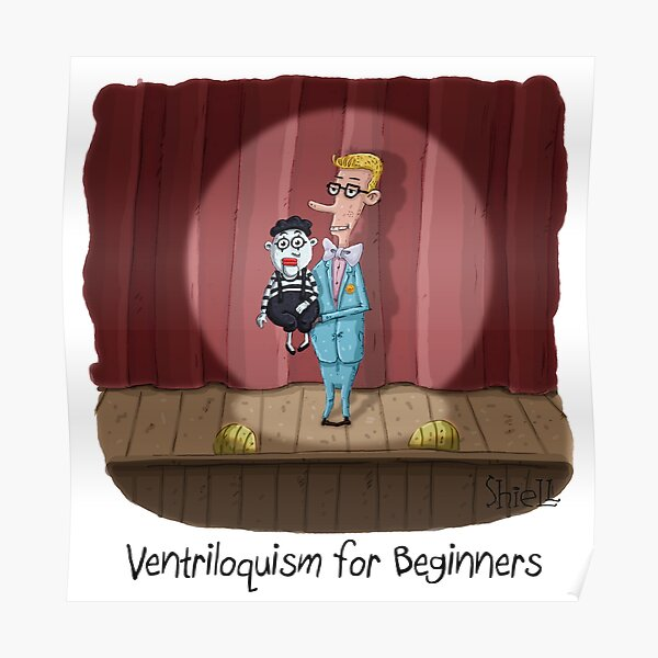 Ventriloquism for Beginners Poster