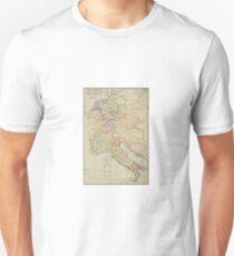 Modern history; Europe map Unisex T-Shirt