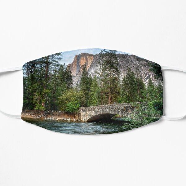 Half Dome and the Bridge Flat Mask