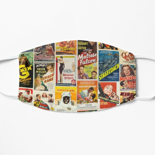 Classic Movie Poster Collage Mask