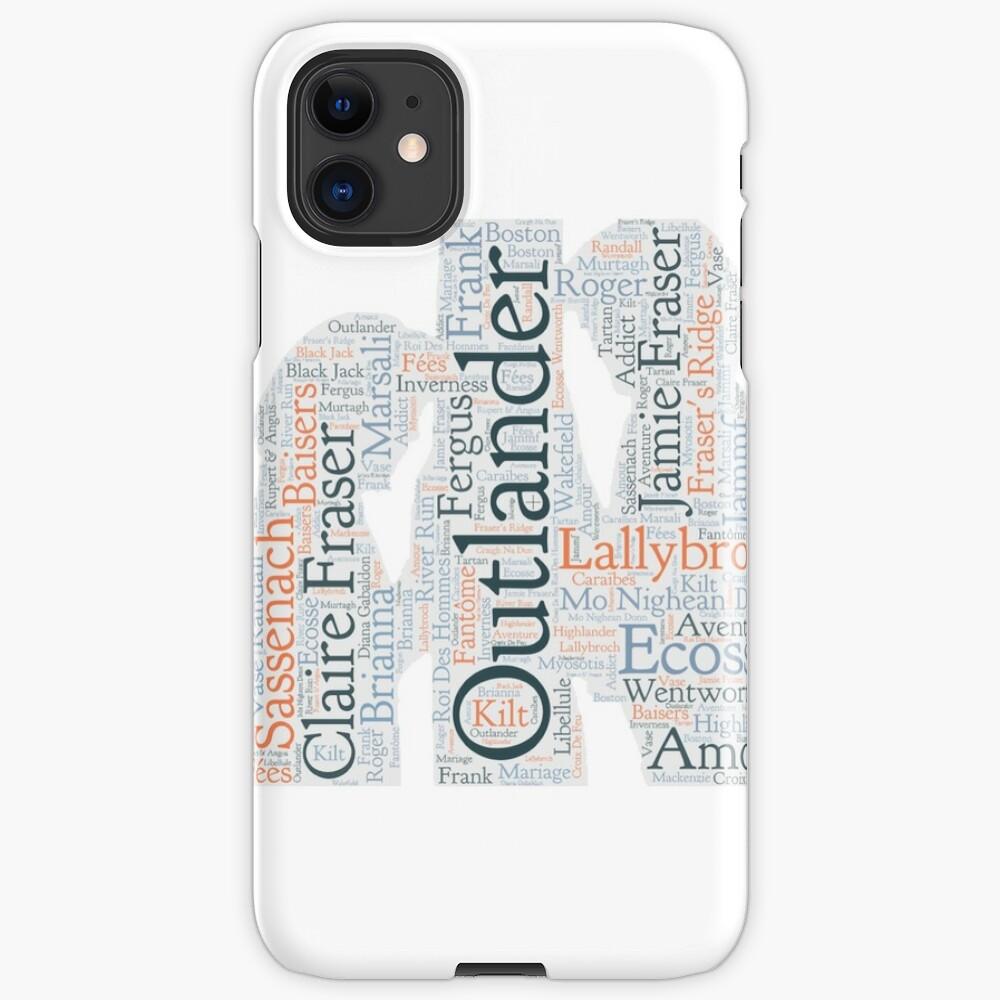Coque iPhone «Outlander, Jamie et Claire»
