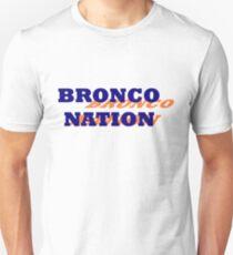 Bronco Nation Slim Fit T-Shirt