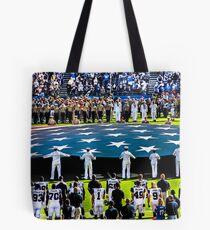 Honoring The Military Tote Bag
